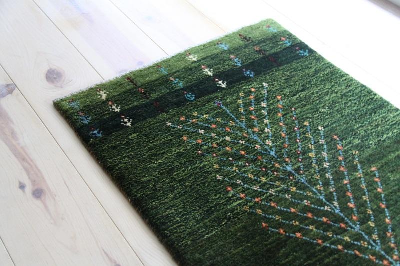 玄関・生命の樹・緑②