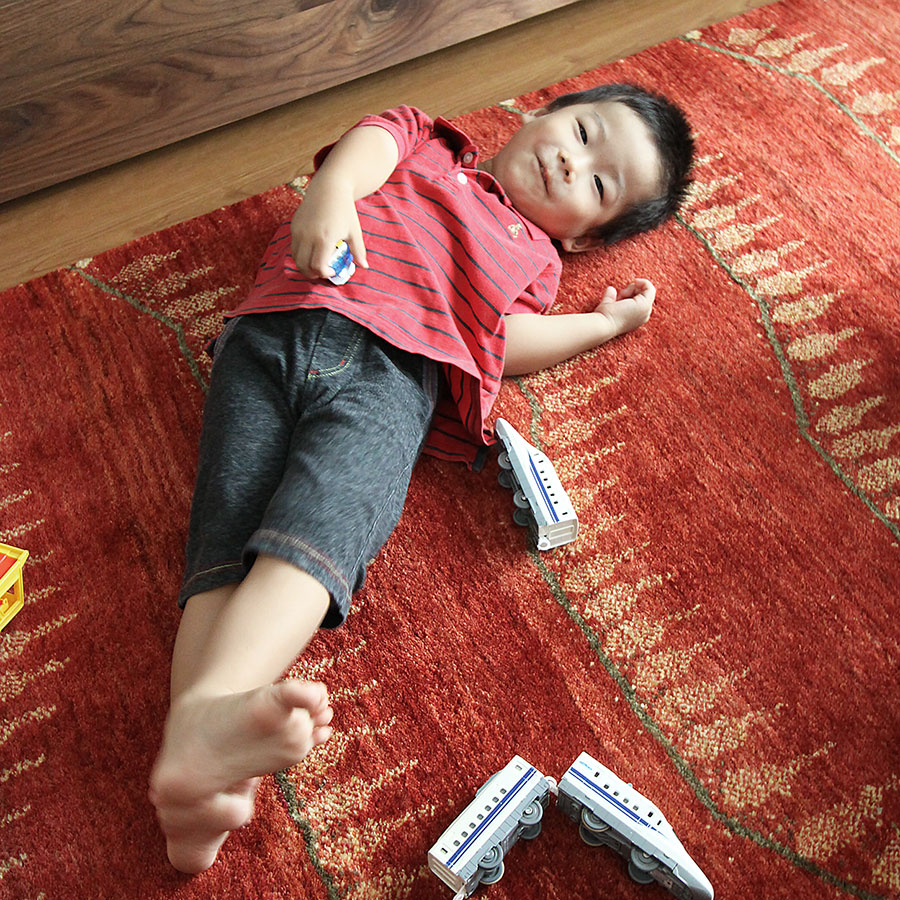 体に優しい絨毯